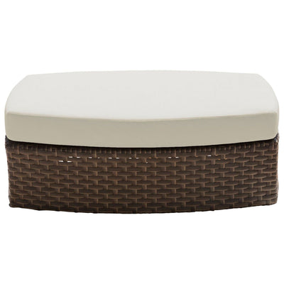 Big Sur Ottoman with Cushion