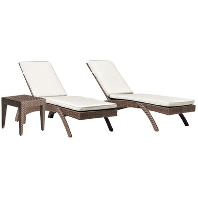 Oasis 3 PC Chaise Lounge