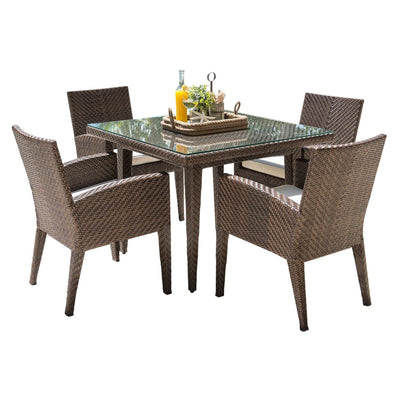 Oasis 5 PC Dining Set with Cushions