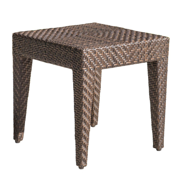 Oasis End Table with Glass