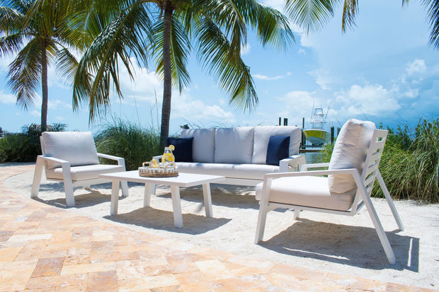 Mykonos 4 PC Seating Set with Cushions