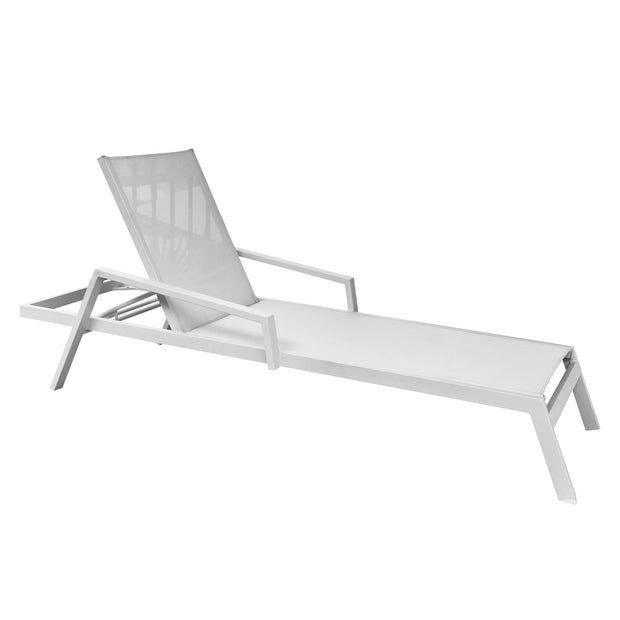 Mykonos Sling Chaise Lounge with Cushion