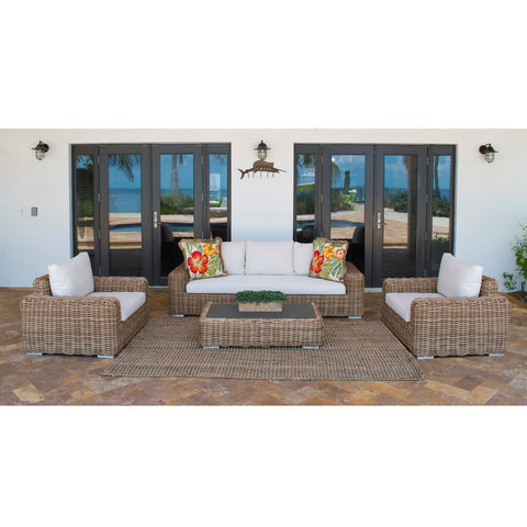 Cancun 4 PC Seating Set