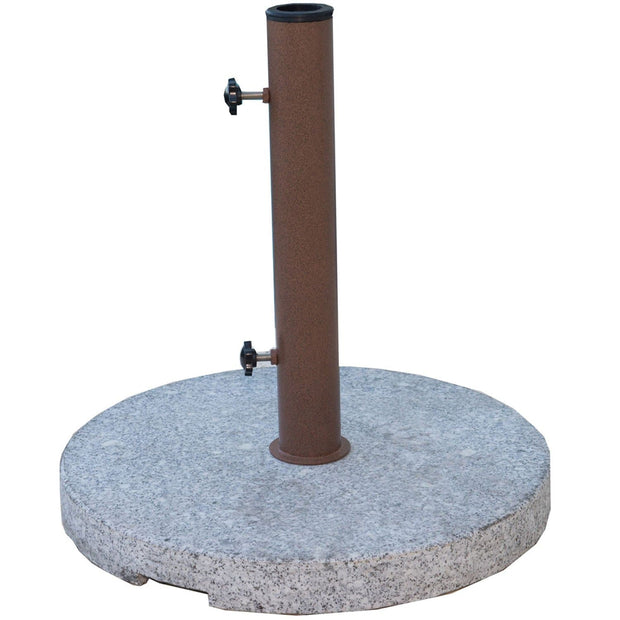 Round Granite Umbrella Base