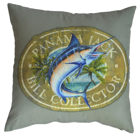 Bill Collector Throw Pillow (Set of 2)