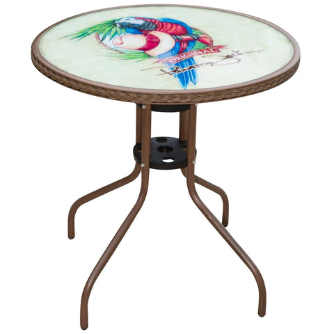 Café Parrot & Hat Bistro Table