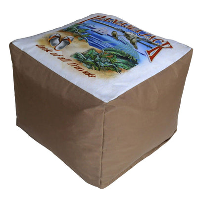 Jack of All Travels Pouf Ottoman