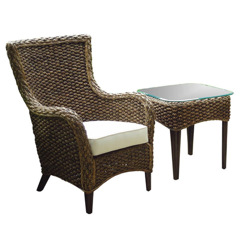 Sanibel 2PC Lounge chair Set with Cushions