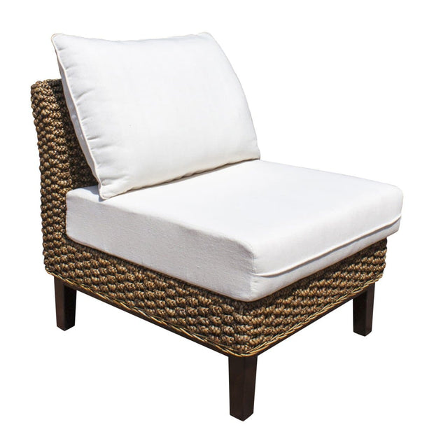 Sanibel Armless Chair with Cushions