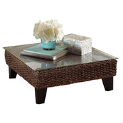 Sanibel Coffee Table with Glass