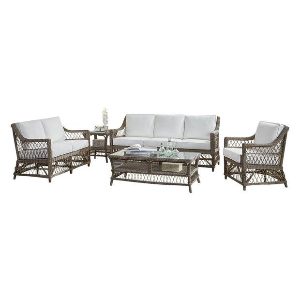 Seaside 5 PC Living Set with Cushions