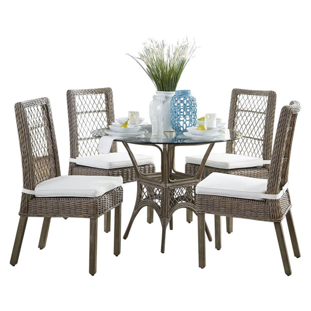 Seaside Dining Set with Cushions