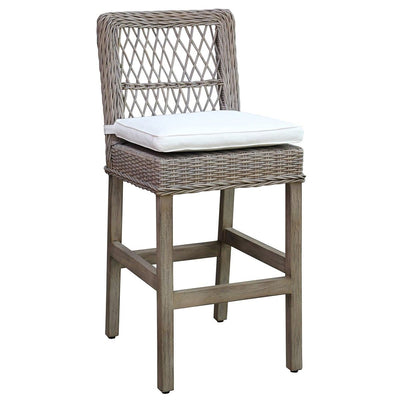 Seaside Barstool with Cushion