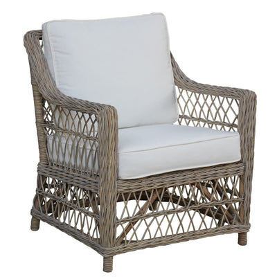 Seaside Lounge Chair with Cushions