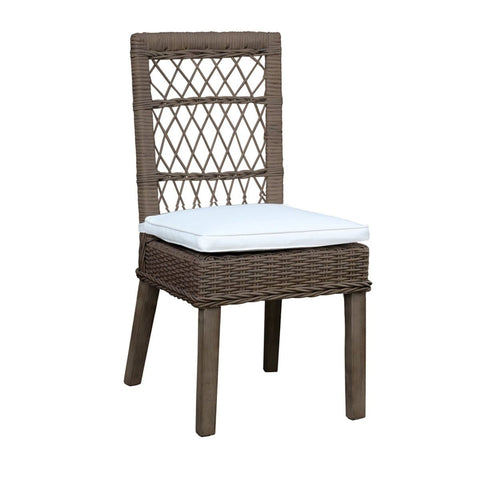 Seaside Side Chair with Cushion