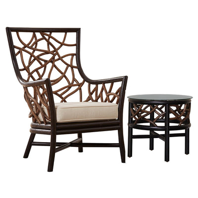 Trinidad 2 PC Occasional Chair Set with Cushions