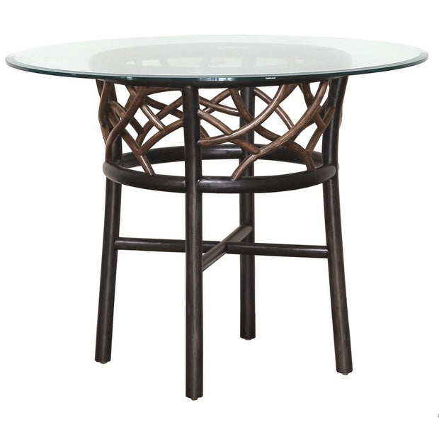 Trinidad Stackable Dining Base with Glass