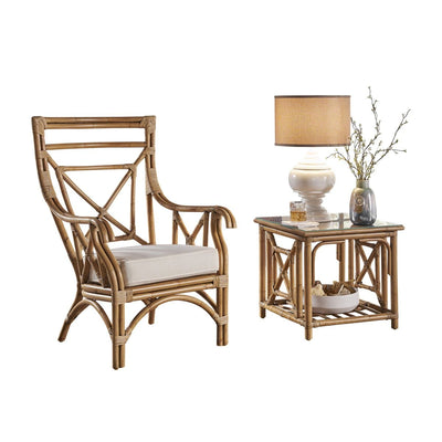 Plantation Bay 2 PC Occasional Chair Set with Cushions