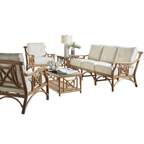 Plantation Bay 5 PC Living Set with Cushions