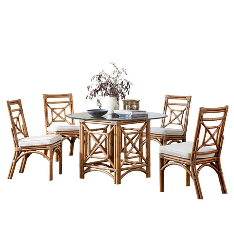 Plantation Bay Dining Set with Cushions