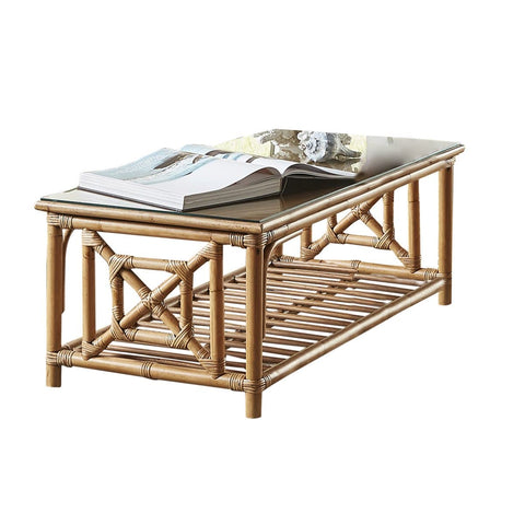 Plantation Bay Coffee Table with Glass