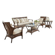 Espresso 4 Pc Seating Set