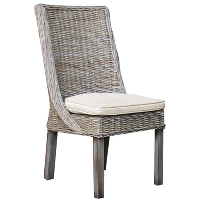 Exuma Side Chair with Cushion
