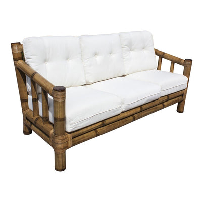 Kauai Bamboo Sofa with Cushions