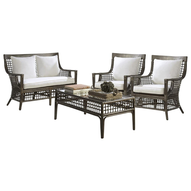 Millbrook 4 PC Living Set with Cushions
