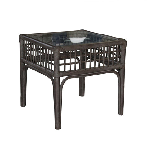 Millbrook End Table with Glass