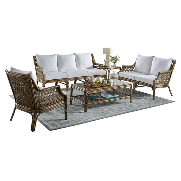 Old Havana 5 PC Living Set with Cushions