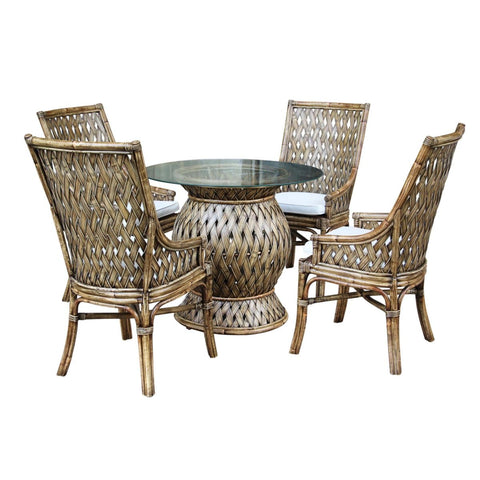 Old Havana 6 PC Dining Set with Cushions