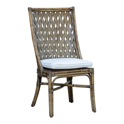 Old Havana Side Chair with Cushion