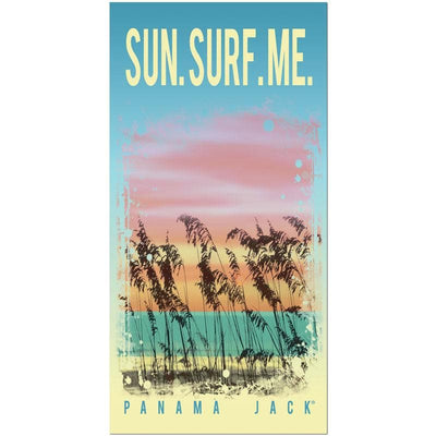 Sun Surf Me Beach Towel