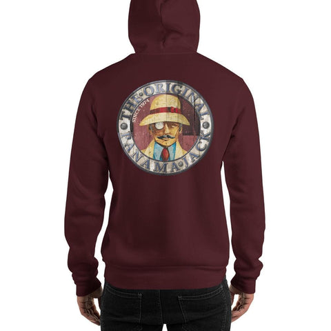 Original Wood Man Unisex Hoodie - 2 Sided Print