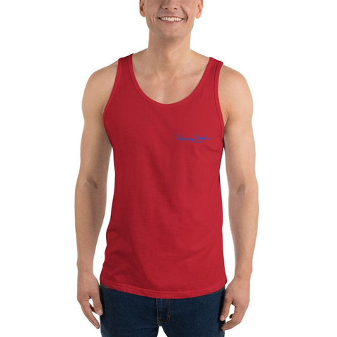 Original Parrot & Hat Unisex Tank Top - 2 Sided Print