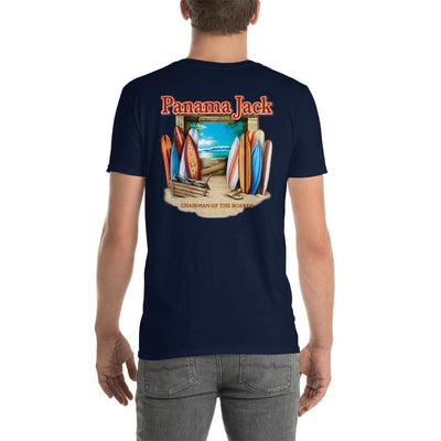 Chairman Of The Boards Short-Sleeve Unisex T-Shirt - 2 Sided Print