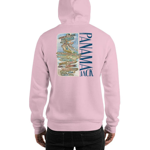 Escape Away Destinations Unisex Hoodie - 2 Sided Print