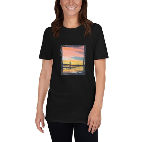 Sunset SUP Short-Sleeve Unisex T-Shirt