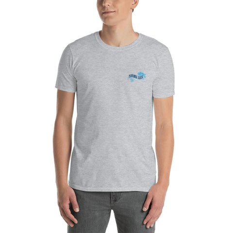 Free Style Surf Competition Short-Sleeve Unisex T-Shirt - 2 Sided Print