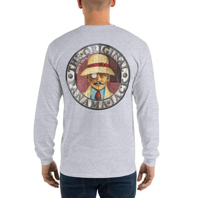 Original Wood Man Unisex Long Sleeve T-Shirt - 2 Sided Print