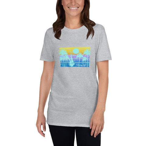 Sunset Sailing Short-Sleeve Unisex T-Shirt