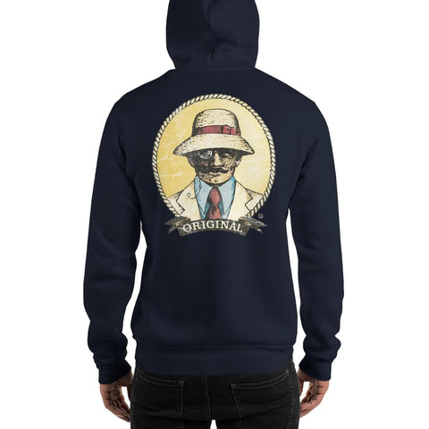 Original Weathered Rope Man Unisex Hoodie - 2 Sided Print