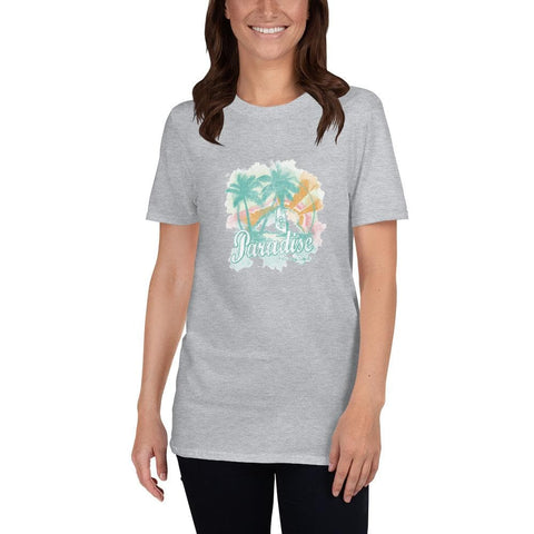 Paradise Watercolors Short-Sleeve Unisex T-Shirt