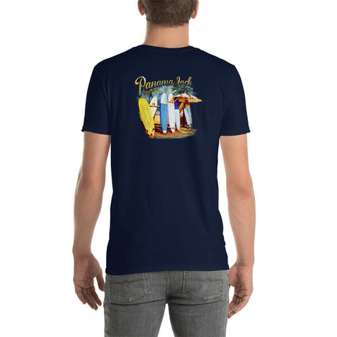 Surfboards Escape Short-Sleeve Unisex T-Shirt - 2 Sided Print