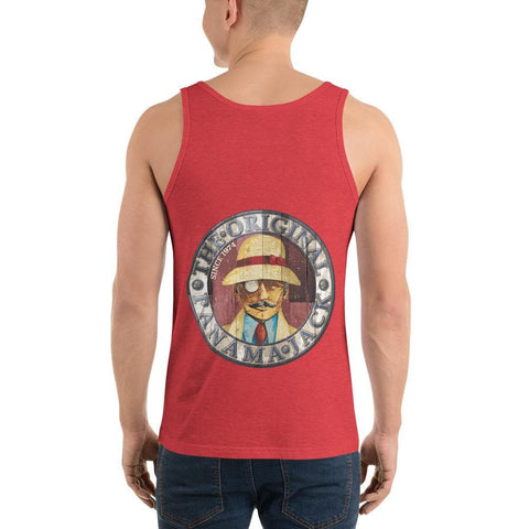 Original Wood Man Unisex Tank Top - 2 Sided Print