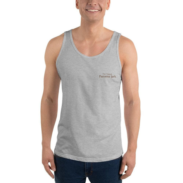 Original Weathered Rope Man Unisex Tank Top - 2 Sided Print