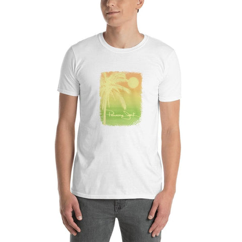 Palm Tree Sunset Short-Sleeve Unisex T-Shirt