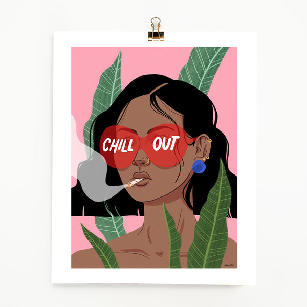 Chill Out! Print (11