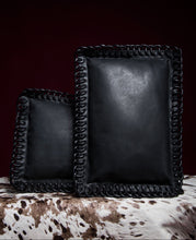 Leather Lounge Pillow